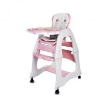 Scaun de masa Sun Baby 2 in 1 007 - Pink