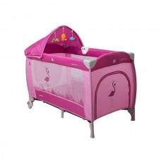 Patut pliabil Coto Baby Samba Lux Pink