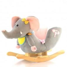 Balansoar Elefant cu sunete EURObaby FDRK 158N