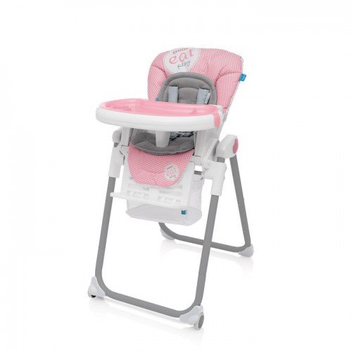 Baby Design Lolly 08 Pink 2017 - Scaun de masa