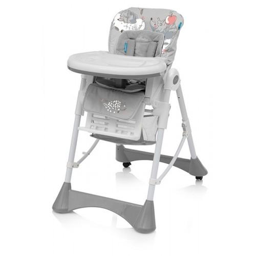 Baby Design Pepe 07 Grey 2018 - Scaun de masa