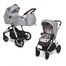 Baby Design Bueno carucior multifunctional 2 in 1 - 107 Gray Peony 2020