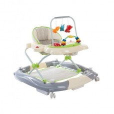 Premergator Sun Baby Pisicuta 011 cu functie de balansoar - Green Grey