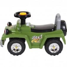 Masinuta de impins Sun Baby Jeep cu lumini – Verde