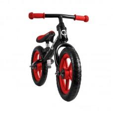 Lionelo Bicicleta fara pedale Fin Plus Black/ Red