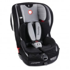 Lionelo - Scaun auto copii Jasper, rotativ 180 grade, cu Isofix, 9-36 Kg, Grey