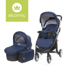 4Baby ATOMIC 2 in 1 Navy Blue
