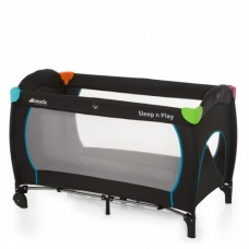 Pat Voiaj Sleep'n Play Go Plus Multicolor Black