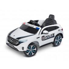 Masinuta electrica cu telecomanda Toyz MERCEDES-BENZ EQC POLICE 12V