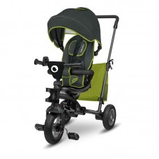 Lionelo - Tricicleta multifunctionala cu sezut reversibil, pliabila, Tris, Green Lime