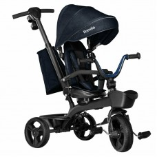 Lionelo - Tricicleta multifunctionala cu sezut reversibil, Kori, Blue Navy