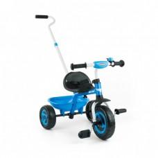 Tricicleta copii Turbo blue Milly Mally