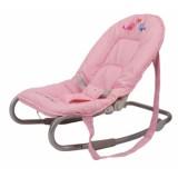 Babygo-Sezlong Babywippen Pink
