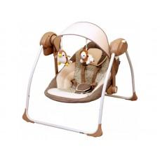 Balansoar Portabil Copii Baby Mix BY012S Maro
