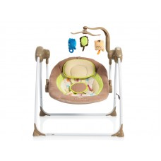 Leagan Electric Moni Baby Swing+ Cappucino