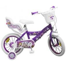 """Bicicleta 14"""" Sofia the First"""