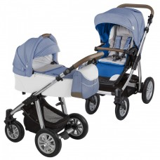 Baby Design Dotty 03 Navy 2017 - Carucior 2 in 1