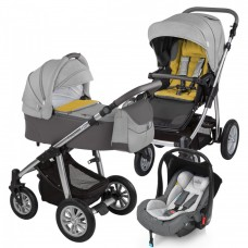 Baby Design Dotty 07 Grey 2017 - Carucior 3 in 1