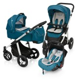 Baby Design Lupo Comfort 05 Turquoise 2017 - Carucior Multifunctional 3in1