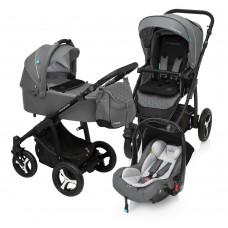 Baby Design Lupo Comfort 07 Graphite 2017 - Carucior Multifunctional 3in1
