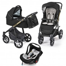 Baby Design Lupo Comfort Limited carucior multifunctional 3 in 1 - 12 Black 2019