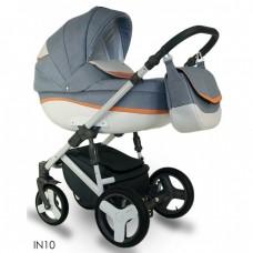 Carucior bebelusi 3 in 1 Bexa Ideal Jeans Brown