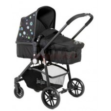 Carucior 2 in 1 Juju Happy In The Park, Negru