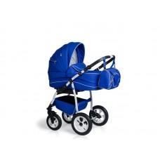 Carucior copii 3 in 1 MyKids Germany Blue Regal