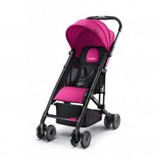 Carucior pentru Copii Easylife Roz cu Cadru Negru