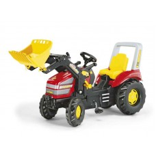 Tractor Cu Pedale Copii ROLLY TOYS 046775 Rosu