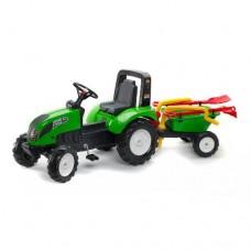 Tractor Garden Master Verde cu Remorca
