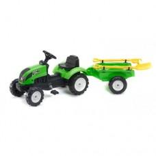 Tractor cu Remorca Garden Master si Unelte Green