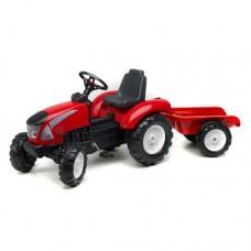 Tractor Garden Master cu Remorca Rosu