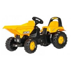 Tractor cu pedale Rolly Kid Dumper JCB ROLLY TOYS