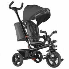 Lionelo - Tricicleta multifunctionala cu sezut reversibil, pliabila, Haari, Stone Grey